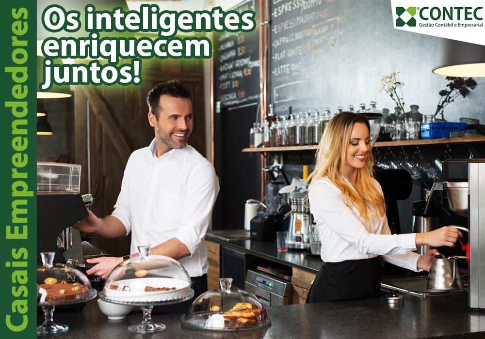 Casais Empreendedores: Os Inteligentes Enriquecem Juntos!