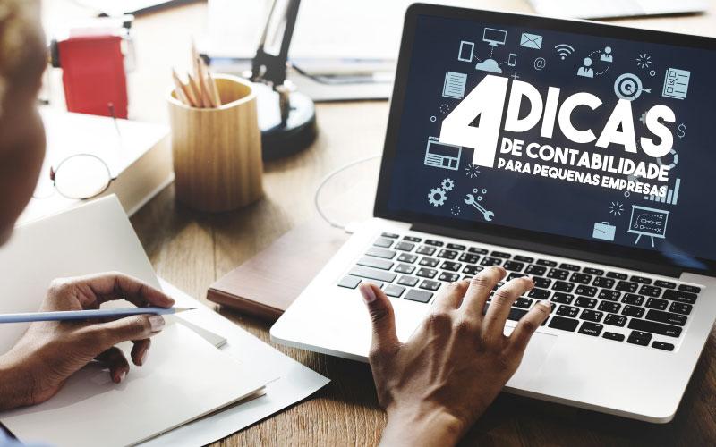 4 Dicas De Contabilidade Para Pequenas Empresas